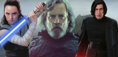 Star Wars: Rey, Luke Skywalker, Kylo Ren