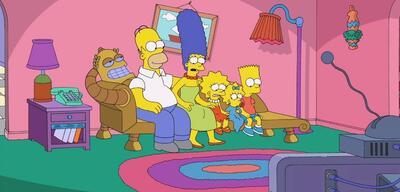 Der Couchgag der Simpsons