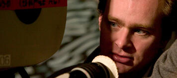 Christopher Nolan hinter der Kamera