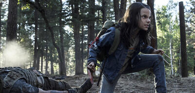 Laura aka Dafne Keen in Logan - The Wolverine