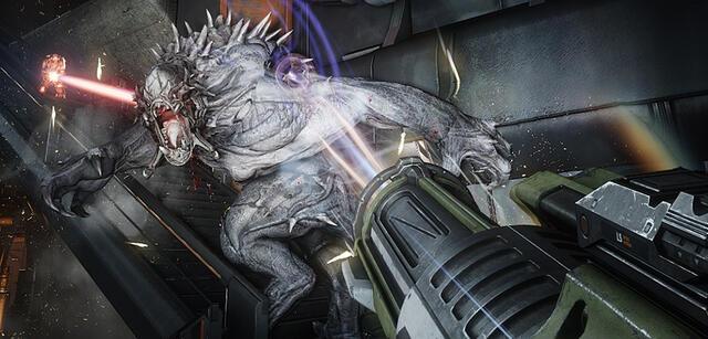 In Evolve bekommt ihr es mit einem Monster zu tun