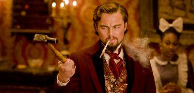 Leonardo DiCaprio in Tarantinos Django Unchained