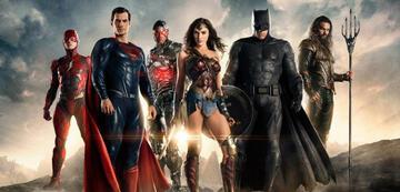 Die Justice League im DCEU
