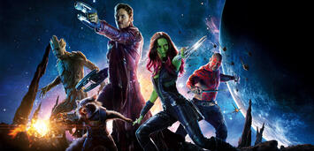 Bild zu:  Die Guardians of the Galaxy are ready to rock your ZWERCHFELL!