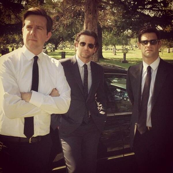 Hangover 3 mit Bradley Cooper, Ed Helms und Justin Bartha