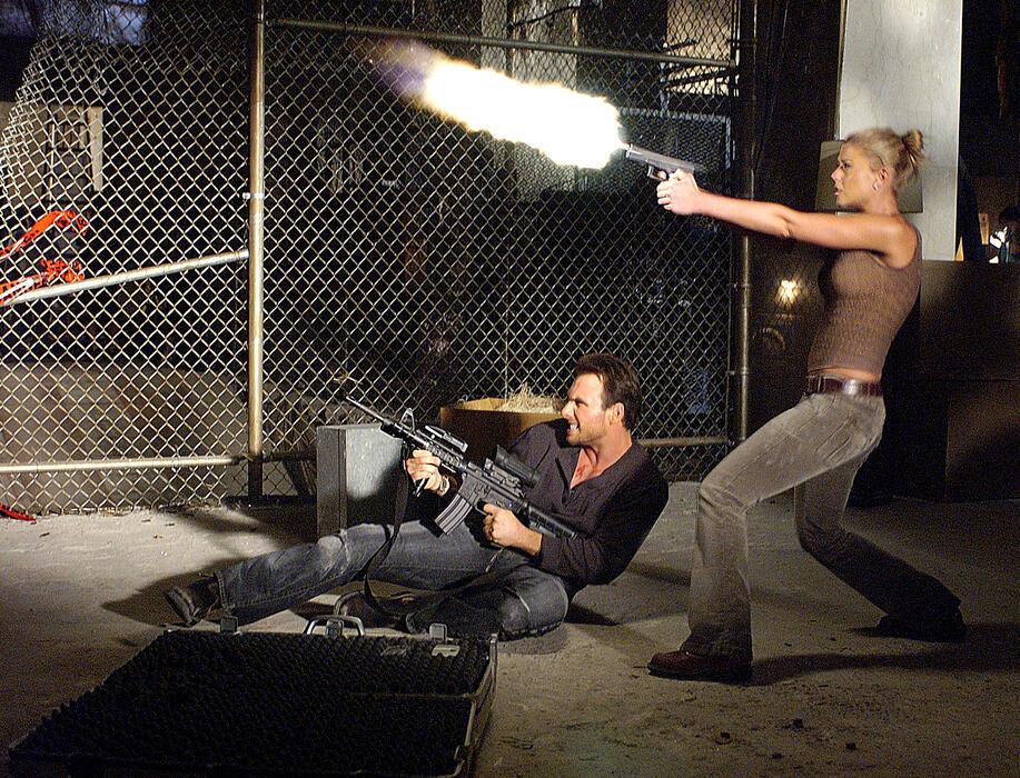 Alone in the Dark mit Christian Slater und Tara Reid