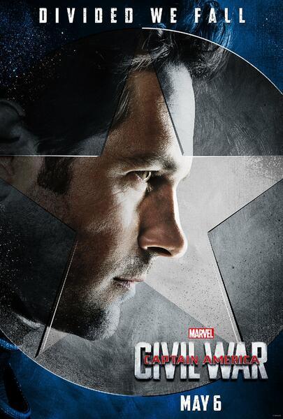 The First Avenger: Civil War mit Paul Rudd