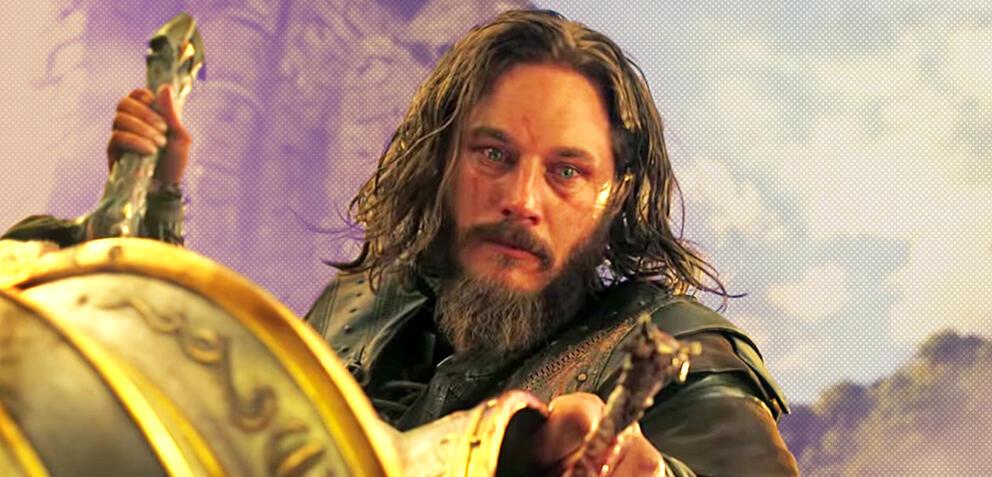 Travis Fimmel in Warcraft: The Beginning