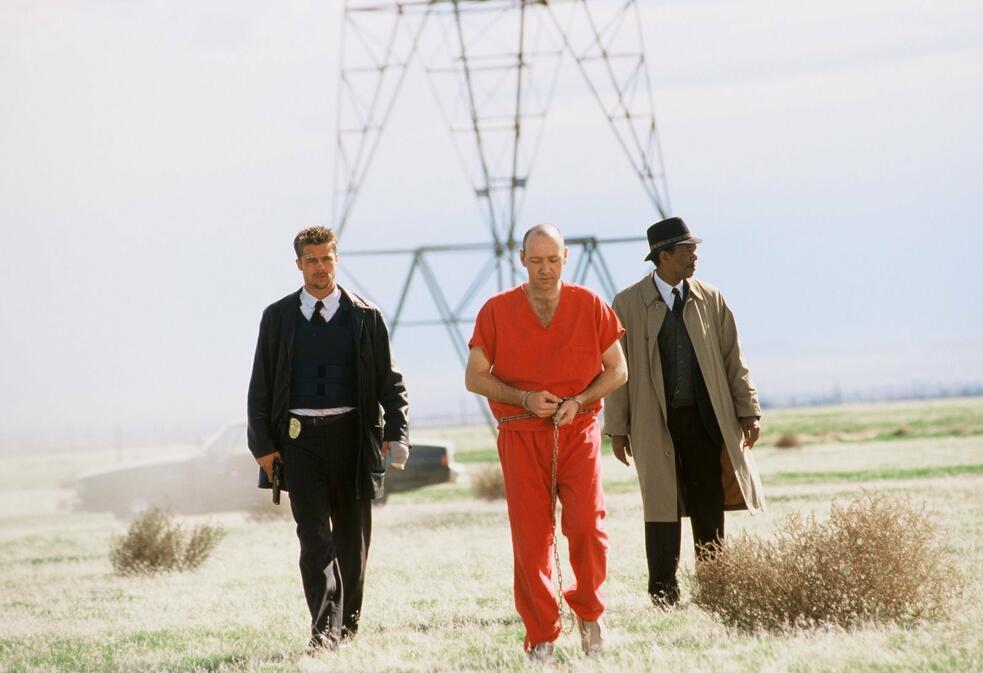 Sieben mit Kevin Spacey und Morgan Freeman