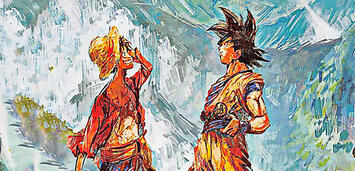 Bild zu:  Ruffy und Son-Goku