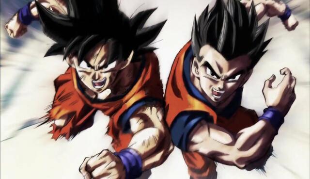 Son-Goku und Son-Gohan