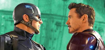 Chris Evans und Robert Downey Jr.
