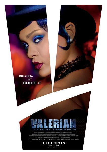 Valerian - Die Stadt der tausend Planeten mit Rihanna