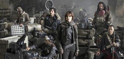 Der Cast von Rogue One: A Star Wars Story