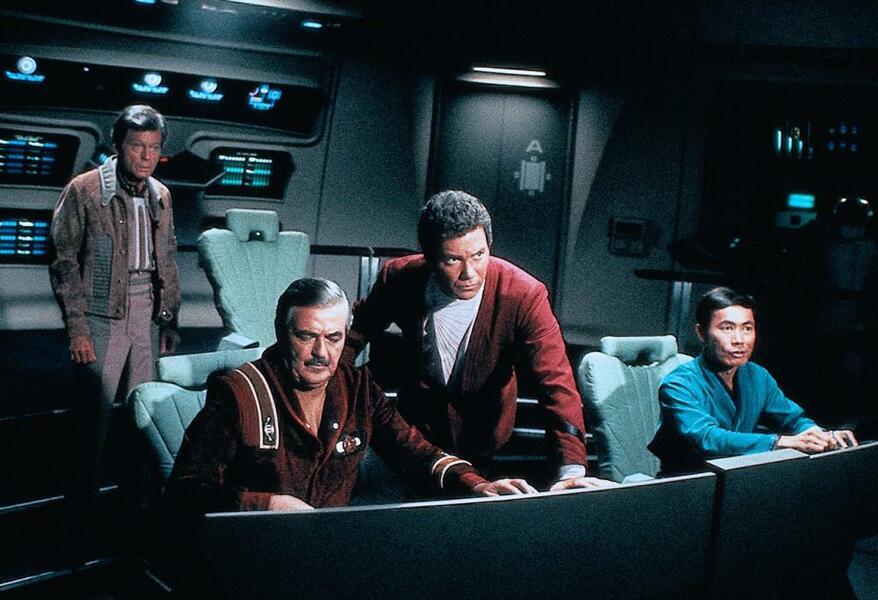 Star Trek III: Auf der Suche nach Mr. Spock mit William Shatner, George Takei und DeForest Kelley