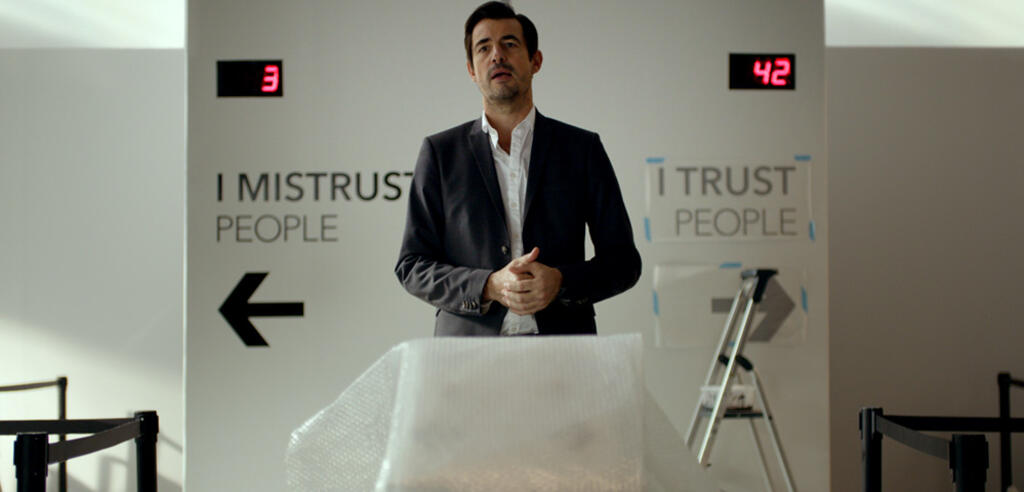 I mistrust people