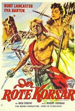 Der rote Korsar Poster