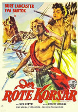 Der rote Korsar - Poster