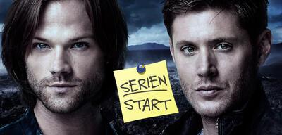 Jared Padalecki undJensen Ackles in Supernatural, Staffel 12