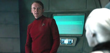 Simon Pegg als Scotty in Star Trek Beyond