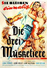 Die drei Musketiere - Poster