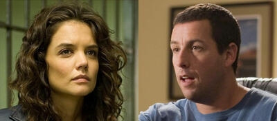 Katie Holmes in Mad Money, Adam Sandler in Click