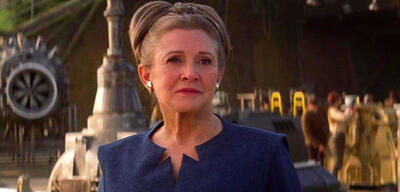 Carrie Fisher als Leia Organa in Star Wars 7