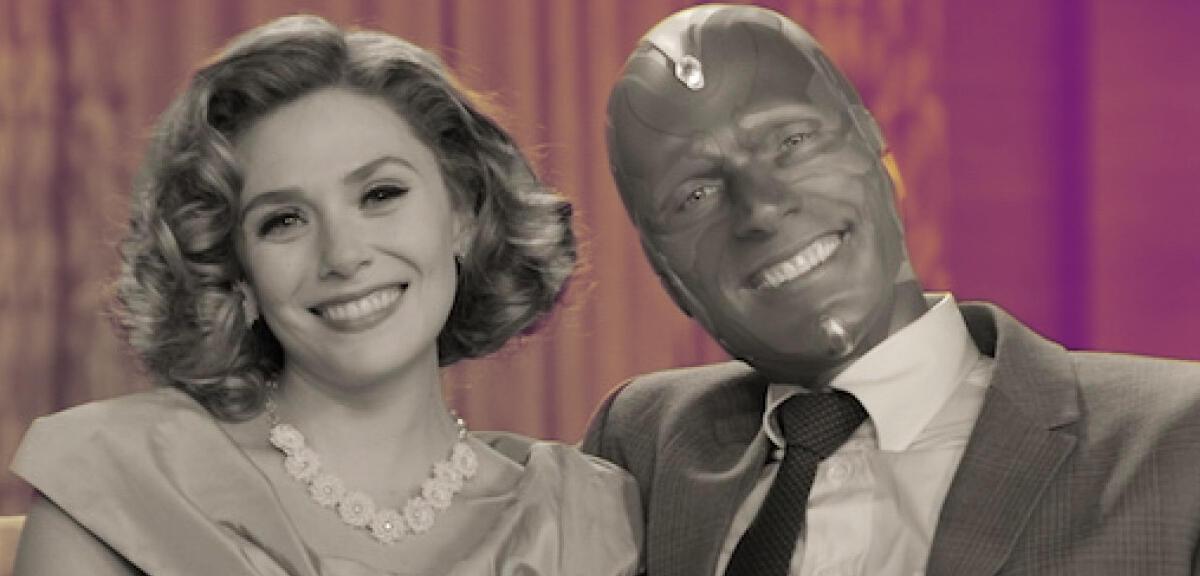 WandaVision bei Disney+: Im Trailer steckt sogar eine Captain Marvel-Verbindung