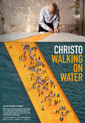 Christo - Walking on Water Poster