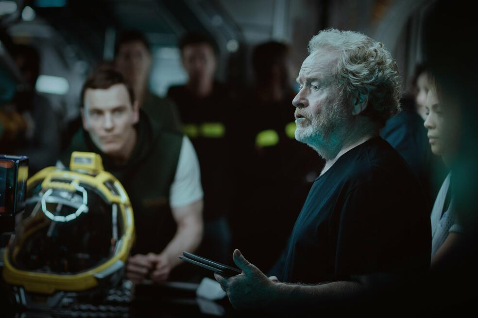 Alien: Covenant mit Michael Fassbender