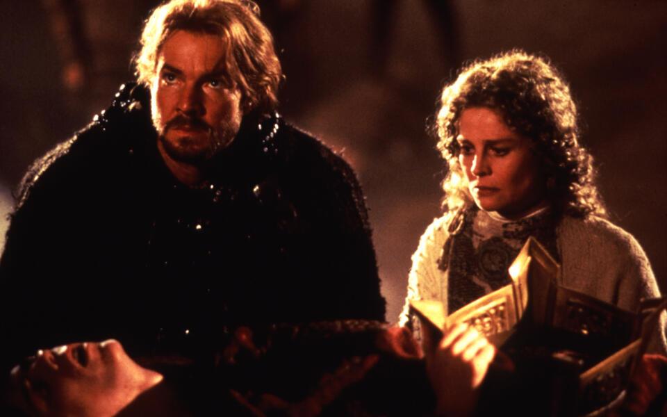 Dragonheart mit Dennis Quaid und Dina Meyer
