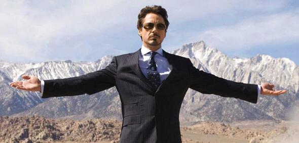 Tony Stark am Anfang seiner Reise