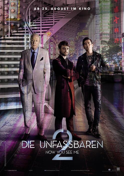 Die Unfassbaren 2 mit Michael Caine und Daniel Radcliffe