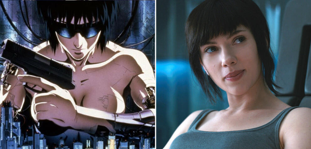 Ghost in the Shell: Anime vs. Remake mit Scarlett Johansson