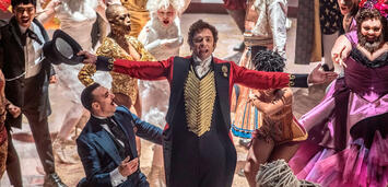 Bild zu:  Hugh Jackmann in The Greatest Showman on Earth