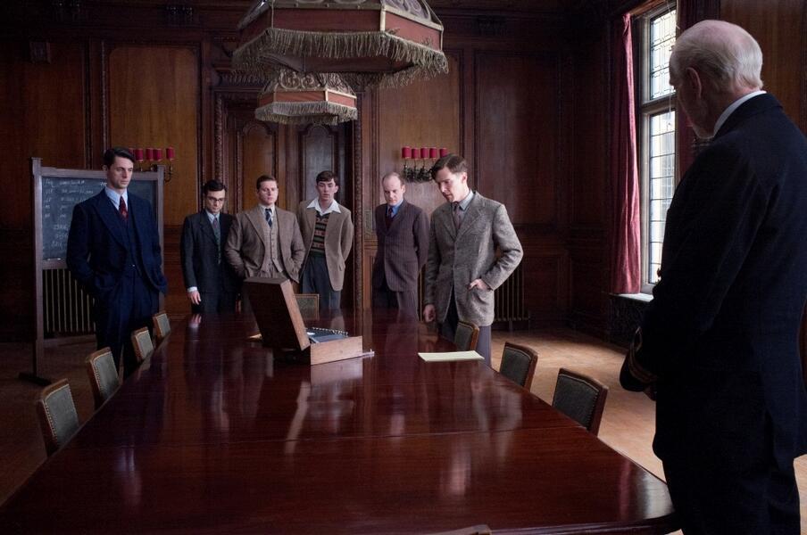 The Imitation Game - Ein streng geheimes Leben mit Benedict Cumberbatch, Matthew Goode und Allen Leech