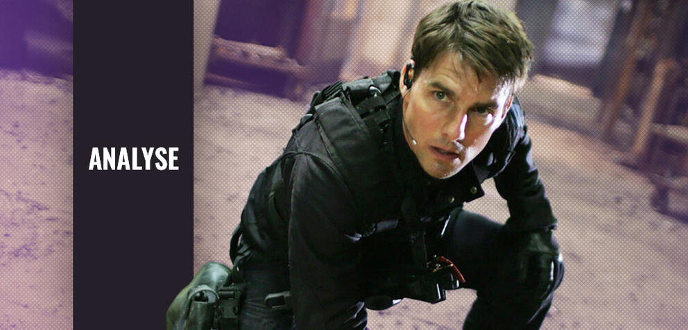 Tom Cruise als Ethan Hunt in Mission: Impossible 3
