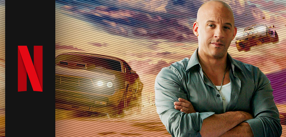 Fast & Furious Spy Racers & Vin Diesel als Dom Toretto