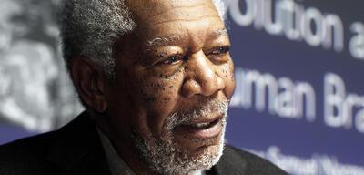 Morgan Freeman redet über zukünftige Projekte (hier in Lucy)