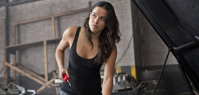Michelle Rodriguez in ihrer Fast & Furious-Rolle
