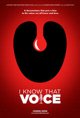 I Know That Voice - Poster