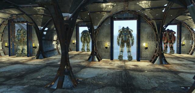 Fallout 4 Spieler Regiert Mit Seiner Festung Das ödland