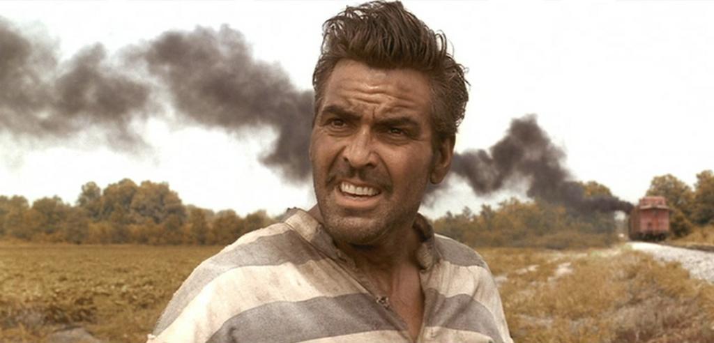 George Clooney inO Brother, Where Art Thou?
