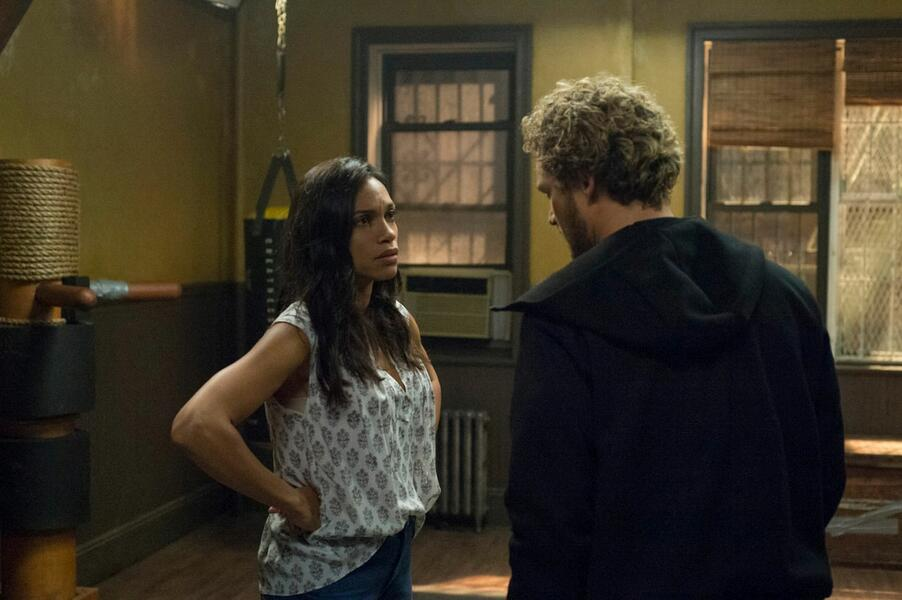 Marvel's Iron Fist, Marvel's Iron Fist Staffel 1 mit Rosario Dawson und Finn Jones