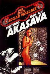 Der Teufel kam aus Akasava - Poster