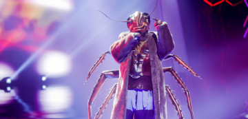Angelo Kelly als Kakerlake in The Masked Singer