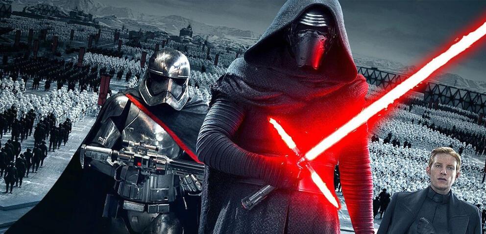 Kylo Ren in Star Wars 7: Das Erwachen der Macht