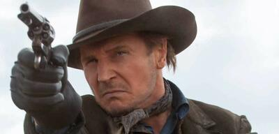 Liam Neeson in A Million Ways to Die in the West