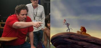 Bild zu:  Jon Favreau am Set von The Jungle Book/ Der König der Löwen