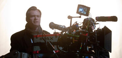 Christopher Nolan am Set des Films, der seine Lieblingsszene enthält.